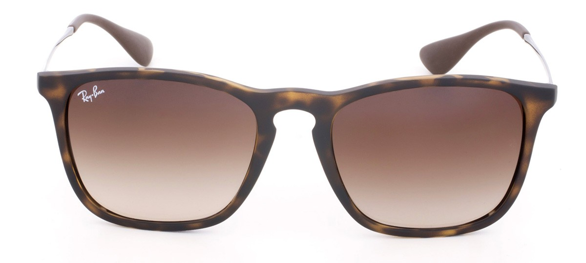 Óculos de Sol Ray-Ban Chris RB 4187 Marrom Degradê e Havana 54 99470d9197